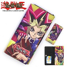 Duel Monsters anime long wallet