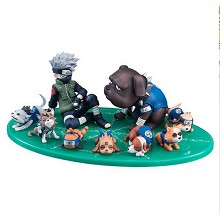 Naruto Kakashi anime figures a set