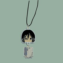 Attack on Titan anime necklace