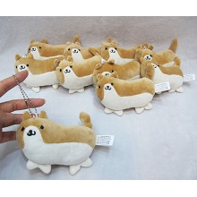 5inches the dog plush dolls set(10pcs a set)