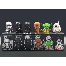 Star wars figures set(7pcs a set)