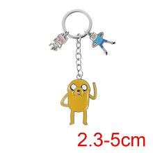Adventure Time anime key chain