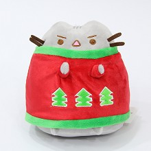 10inches Pusheen Cat anime plush doll