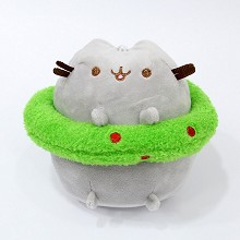 7inches Pusheen Cat anime plush doll