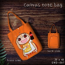 Himouto Umaru-chan anime canvas tote bag shopping bag