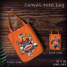 Paul Frank anime canvas tote bag shopping bag