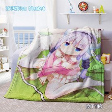 Kobayashi-san Chi no Maid Dragon anime blanket