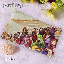 Code Geass anime pen bag pencil bag