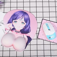 Lovelive Nozomi Tojo 3D anime silicone mouse pad