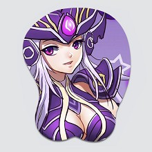 League of Legends 3D silicone mouse pad