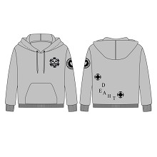 One Piece anime long sleeve cotton hoodie
