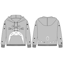 TOTORO anime long sleeve cotton hoodie