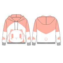 The other anime long sleeve cotton hoodie