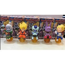 Dragon Ball Z anime figures set(5pcs a set)