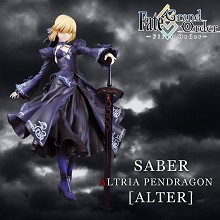 Fate Grand Order Saber anime figure(hands can't change)