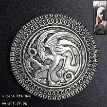 Game of Thrones brooch pin