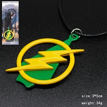 Lightning man necklace