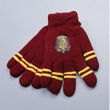 Harry Potter Gryffindor gloves a pair