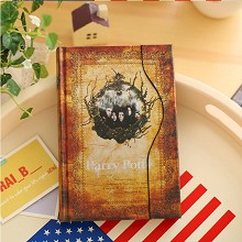 Harry Potter retro hardcover notebook