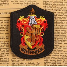 Harry Potter Gryffindor badge emblem