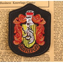 Harry Potter Hufflepuff badge emblem