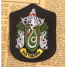 Harry Potter Slytherin badge emblem