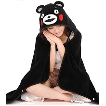 Kumamon coral fleece velvet blanket summer quilt
