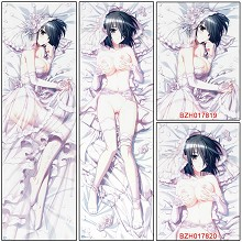 The cartoon anime two-sided sexy long pillow
