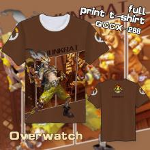 Overwatch JunkRat t shirt