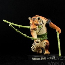 One Piece Zoro cos tiger 15th anime figure