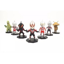 Ultraman anime figures set(7pcs a set)