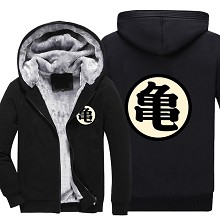 Dragon Ball anime thick hoodie winter cloth