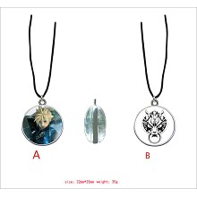Final Fantasy anime two-sided necklace
