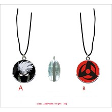 Naruto Kakashi anime anime two-sided necklace