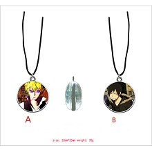 Durarara anime two-sided necklace