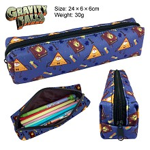 Gravity Falls canvas pen bag pencil case