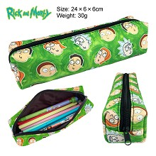 Rick and Morty canvas pen bag pencil case