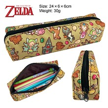 The Legend of Zelda canvas pen bag pencil case