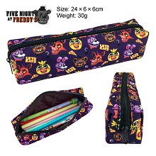 Five Nights at Freddy's canvas pen bag pencil case