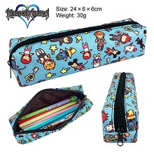 Kingdom Hearts canvas pen bag pencil case