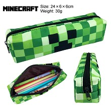 Minecraft canvas pen bag pencil case