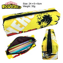 My Hero Academia canvas pen bag pencil case