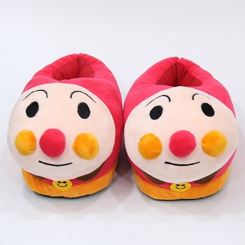 Anpanman plush shoes slippers a pair