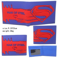 Super Man silicone wallet