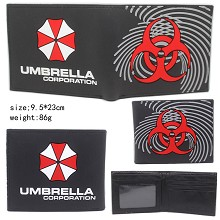Resident Evil silicone wallet