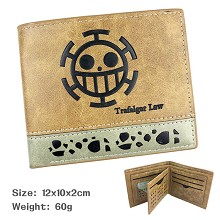 One Piece Law anime wallet