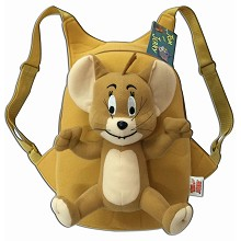 Tom and Jerry children plush backpack school bag