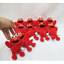 5inches Sesame Street elmo plush dolls set(10pcs a...