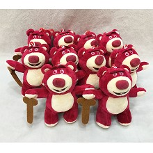 6inches Lotso Huggin Bear plush dolls set(10pcs a ...