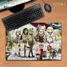 Collection anime mouse pad